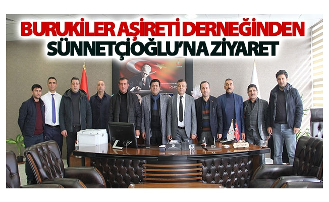 Burukiler Aşireti Derneğinden Sağlık Müdürü Sünnetçioğlu'na Ziyaret
