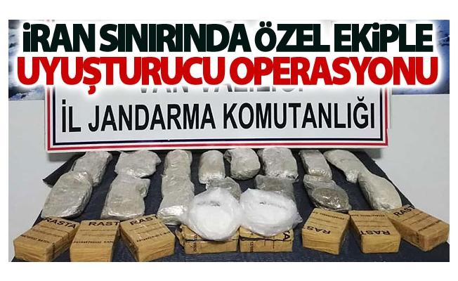 Jandarmanın özel ekibinden uyuşturucu madde operasyonu