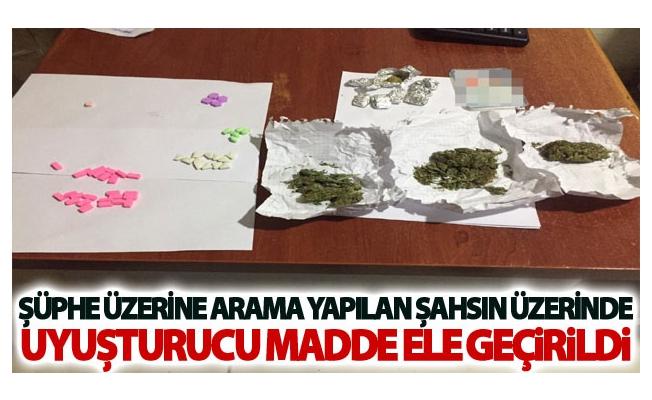 Van'da şahsın üzerinde uyuşturucu madde ele geçirildi