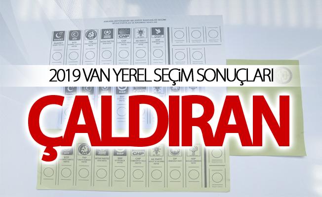 ÇALDIRAN 2019 Yerel seçim sonuçları