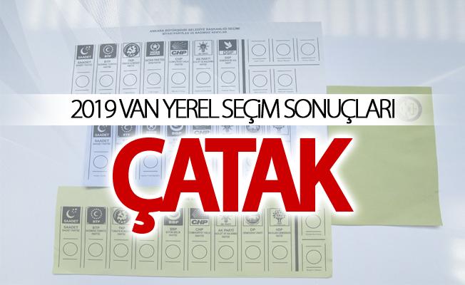 ÇATAK 2019 Yerel seçim sonuçları