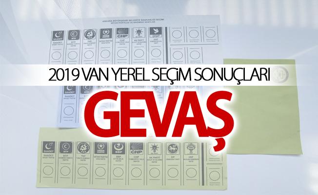 GEVAŞ 2019 Yerel seçim sonuçları