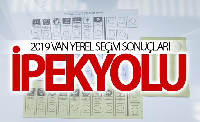 İPEKYOLU 2019 Yerel seçim sonuçları