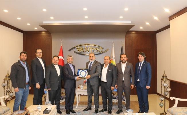 İran Başkonsolosundan Van TSO'ya ziyaret