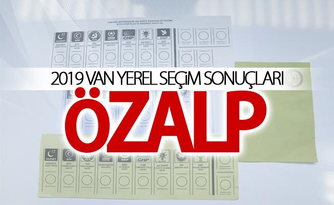 ÖZALP 2019 Yerel seçim sonuçları
