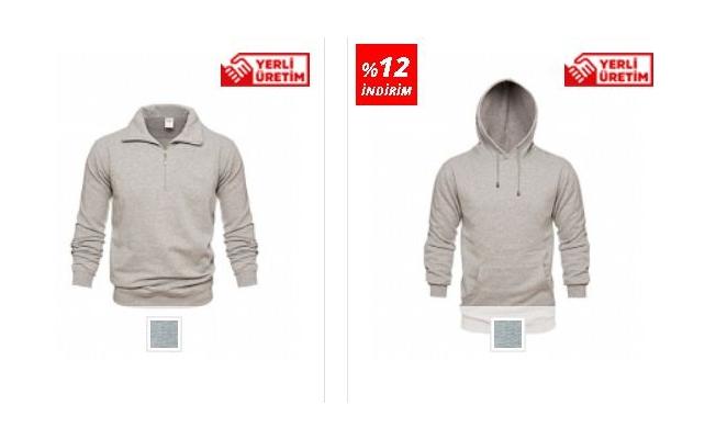 Polo Yaka Sweatshirt Erkek Modelleri