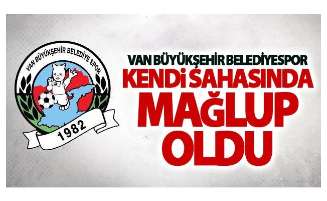 Van Büyükşehir Belediyespor Kendi sahasında mağlup oldu