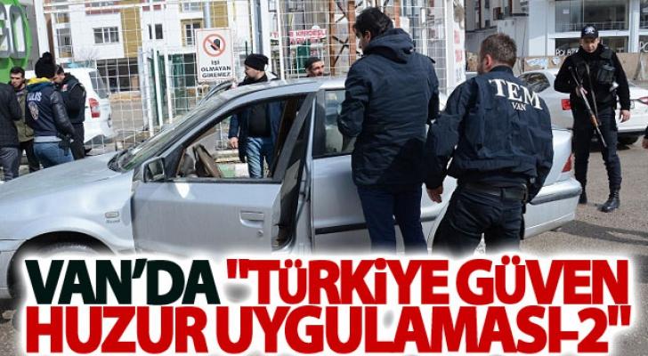 Van'da Türkiye Güven Huzur Uygulaması-2