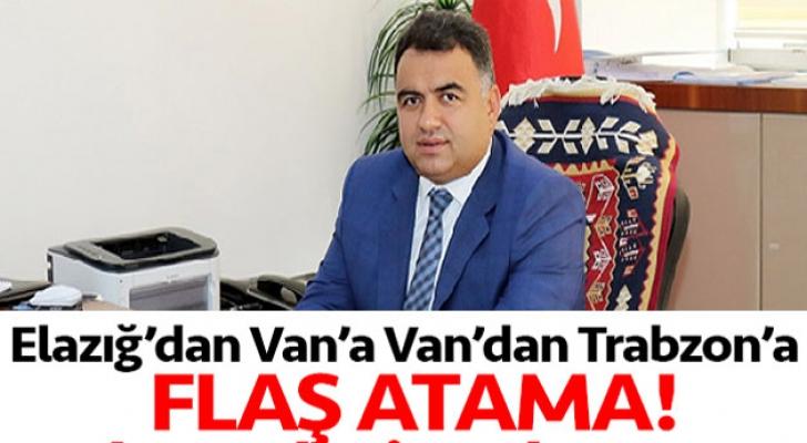 Ali Tekataş,Trabzon TİSKİ'ye Atandı
