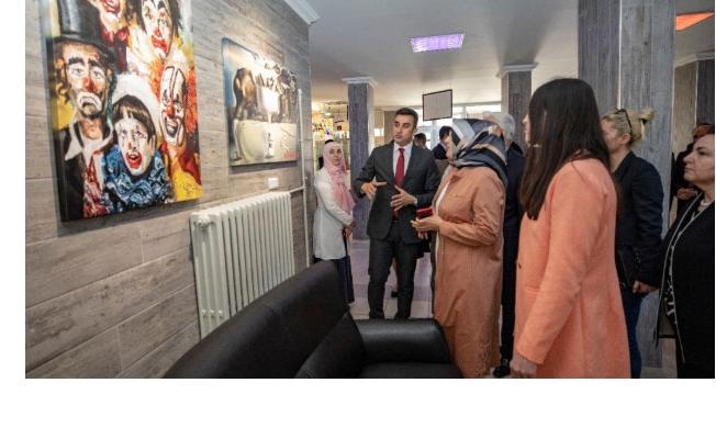 Edremit Mesleki ve Teknik Anadolu lisesinde Olimpiyat Sokağı açıldı