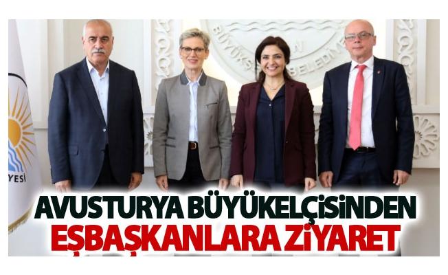 Avusturya Büyükelçisinden Eşbaşkanlara ziyaret