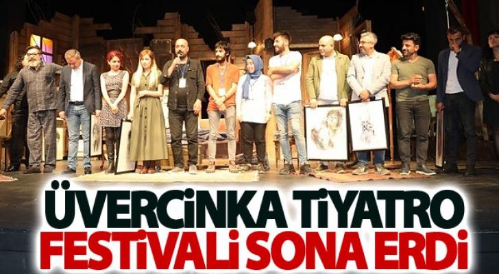 Üvercinka Tiyatro Festivali Sona Erdi