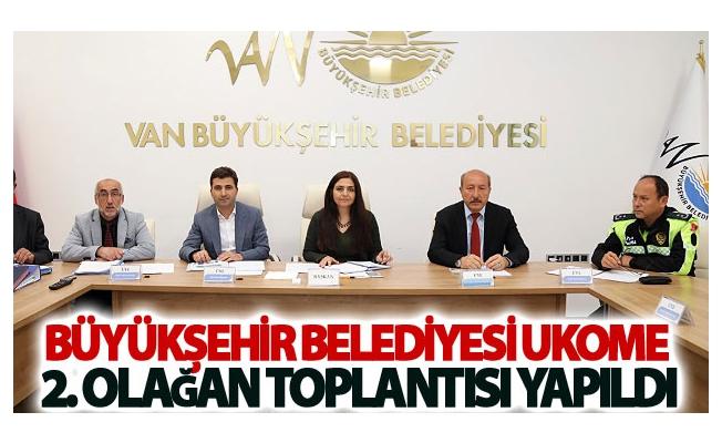 Van Büyükşehir Belediyesi UKOME 2. Olağan toplantısı yapıldı