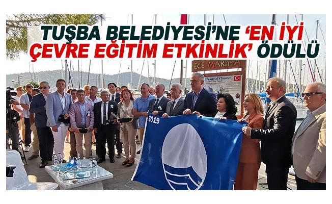 Tuşba Belediyesi'ne 'en iyi çevre eğitim etkinlik' ödülü