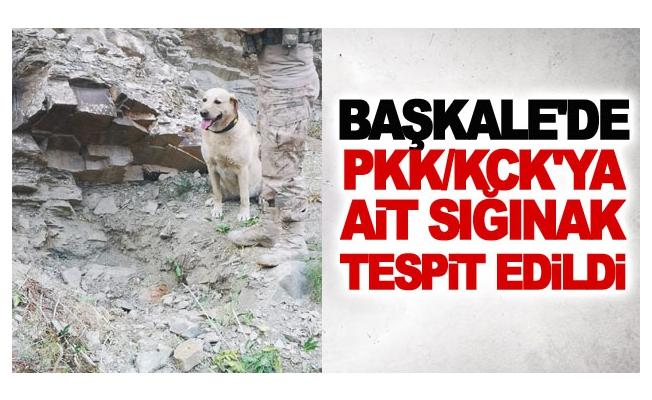 Başkale'de PKK-KCK'ya Ait Sığınak Tespit edildi