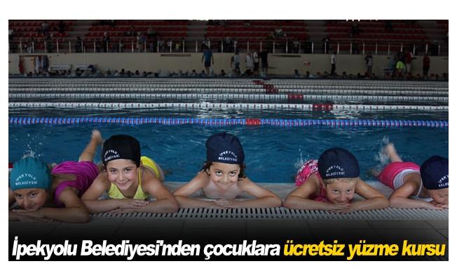 İpekyolu Belediyesi'nden çocuklara ücretsiz yüzme kursu