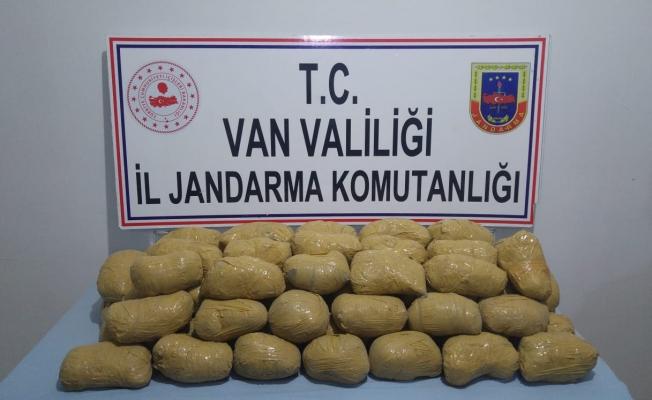 """Jandarma uyuşturucu tacirlerine """"dur"""" dedi"""