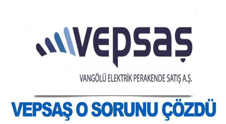 Türkerler VEPSAŞ sorunu çözdü