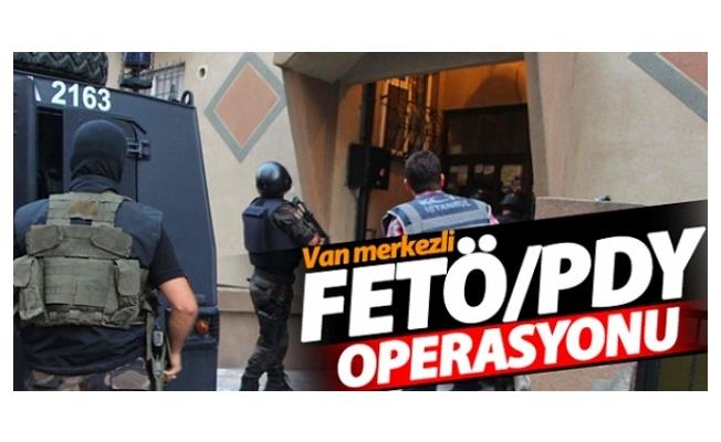 Van merkezli FETÖ operasyonu: 8 gözaltı