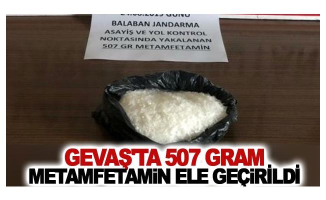Gevaş ilçesinde 507 gram metamfetamin ele geçirildi