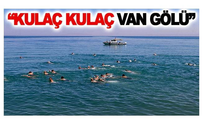 Gevaş'ta Van Gölü kirlenmesin etkinliği