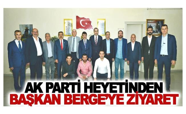 AK Parti heyetinden Başkan Berge'ye ziyaret