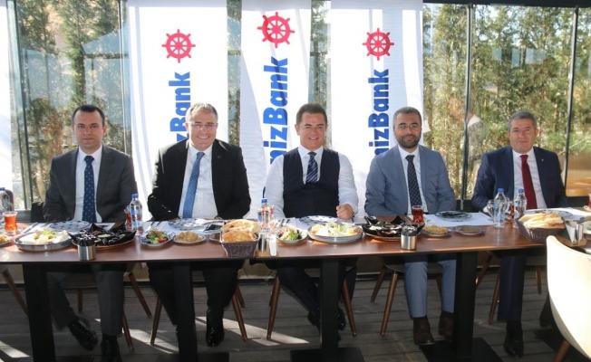 Denizbank AŞ Genel Müdürü Ateş'ten Edremit'e şube sözü