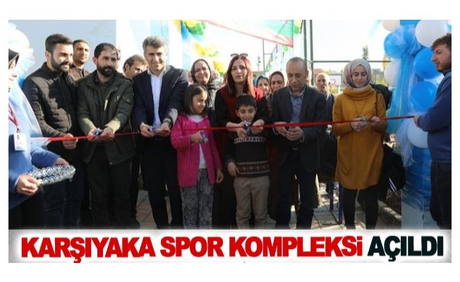 Karşıyaka Spor Kompleksi Açıldı