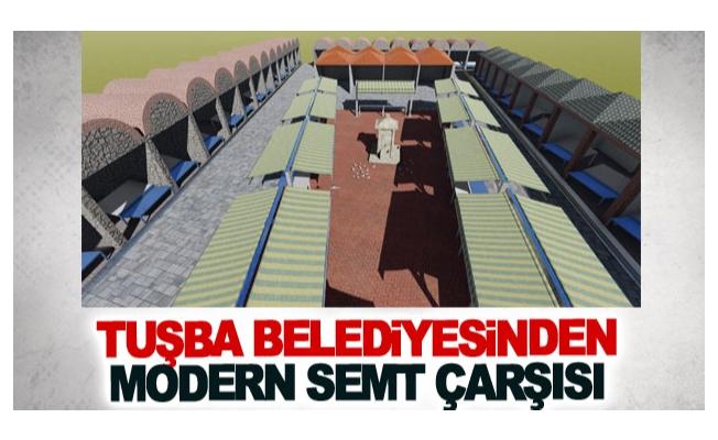 Tuşba Belediyesinden modern semt çarşısı