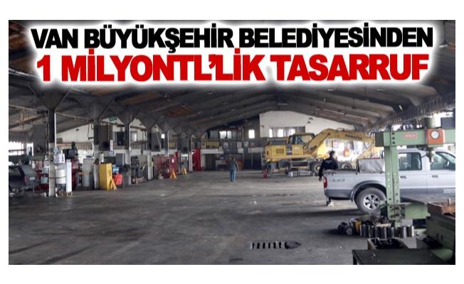 Büyükşehir'den 1 milyon tl'lik tasarruf