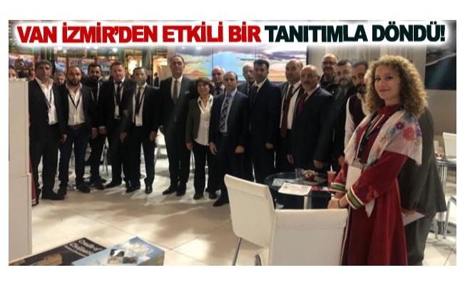 Van İzmir'den etkili bir tanıtımla döndü!