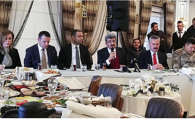 Vali Mehmet Emin Bilmez: 'En önemli amacımız, halkımızın huzurudur'