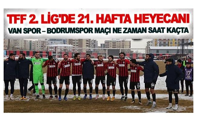 TFF 2. Lig'de 21. hafta heyecanı