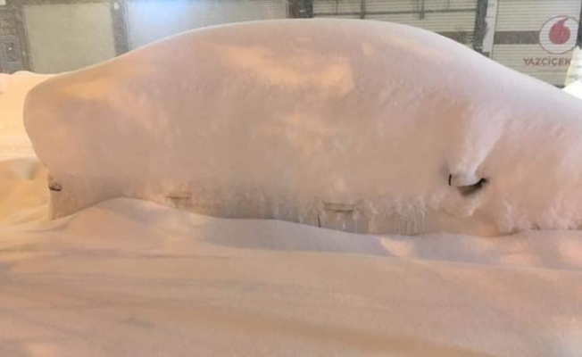Van'da yoğun kar nedeniyle kriz masası oluşturuldu