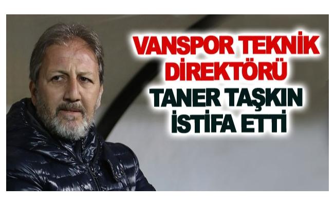Vanspor Teknik Direktörü Taner Taşkın istifa etti