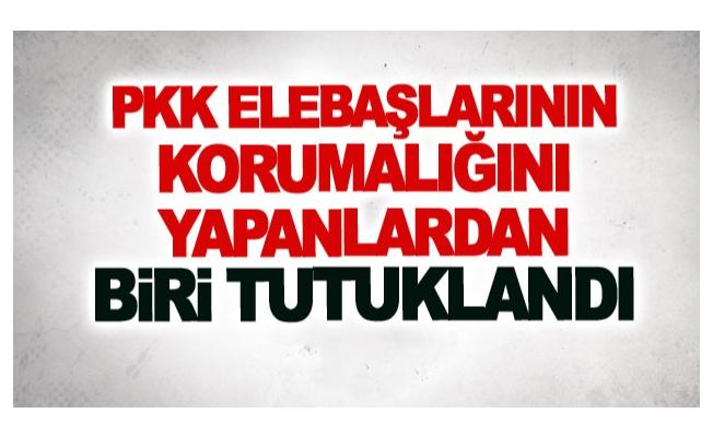 PKK elebaşlarının korumalığını yapanlardan biri tutuklandı