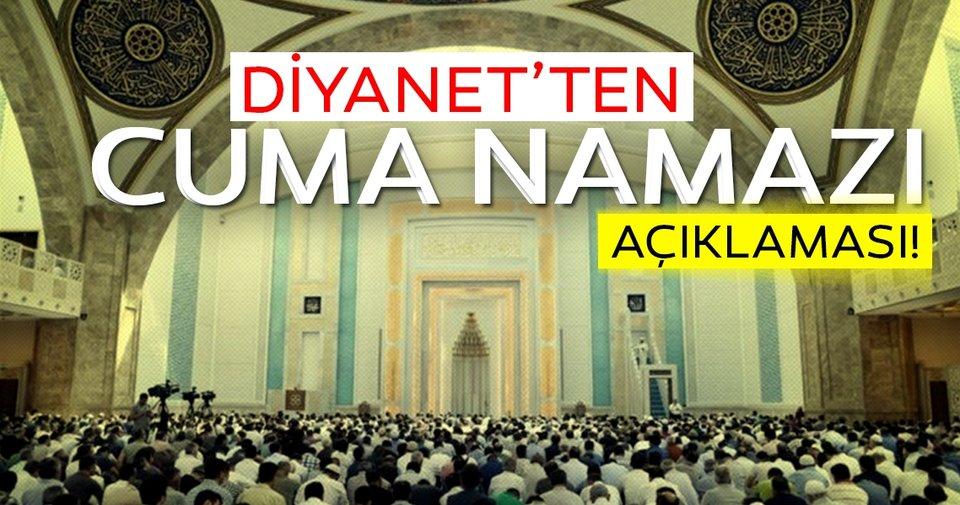 Evde Cuma namazı kılınır mı? Ramazan'da teravih namazları olacak mı? Diyanet cevapladı