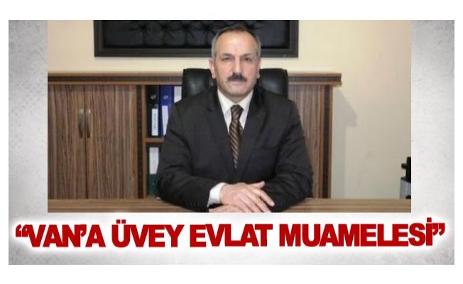 Gelecek Partisi Van İl Başkanı Karabıyık'tan gündeme dair açıklamalar