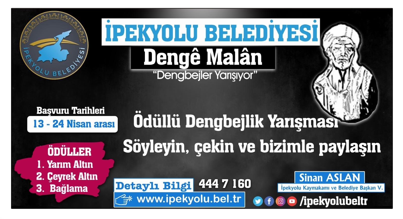 İpekyolu Belediye'sinden dengbej adayları için yarışma