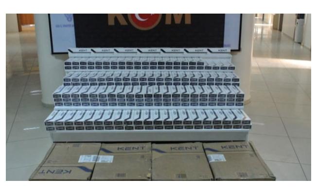 Van'da 53 bin 912 paket kaçak sigara ele geçirildi
