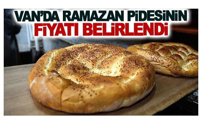Van'da Ramazan pidesinin fiyatı belirlendi