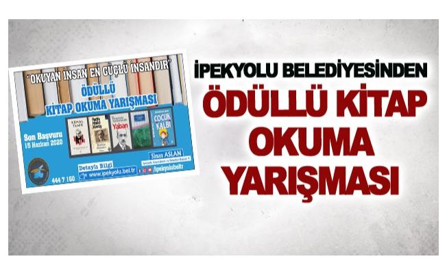 İpekyolu Belediyesinden ödüllü kitap okuma yarışması