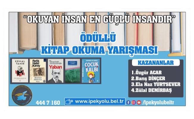 Kitap Okuma Yarışması'nda kazananlar belli oldu
