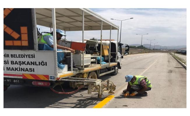 Van Büyükşehir Belediyesinin ulaşım çalışmaları sürüyor