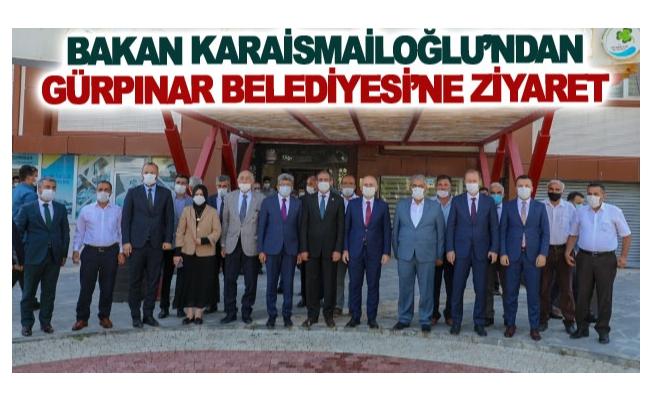 Bakan Karaismailoğlu'ndan Gürpınar Belediyesi'ne Ziyaret