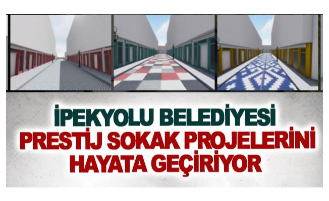 İpekyolu Belediyesi prestij sokak projelerini hayata geçiriyor