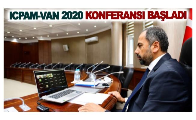 ICPAM-VAN 2020 Konferansı başladı