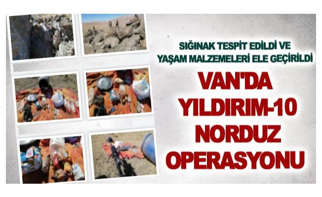 Van'da Yıldırım-10 Norduz Operasyonu