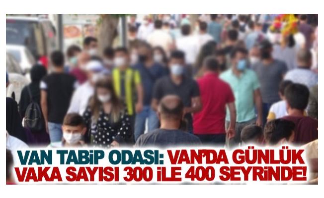 Van Tabip Odası: Van'da günlük vaka sayısı 300 ile 400 seyrinde!