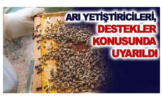 Arı yetiştiricileri, destekler konusunda uyarıldı